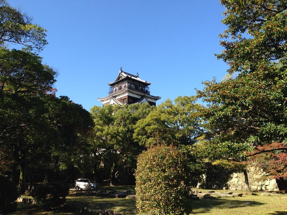 広島城紅葉3
