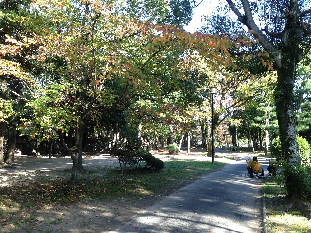 広島城紅葉4