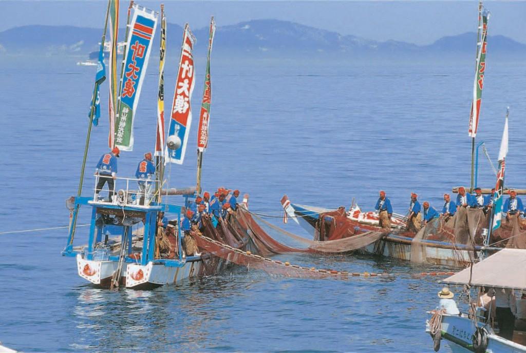 鞆の浦観光鯛網1
