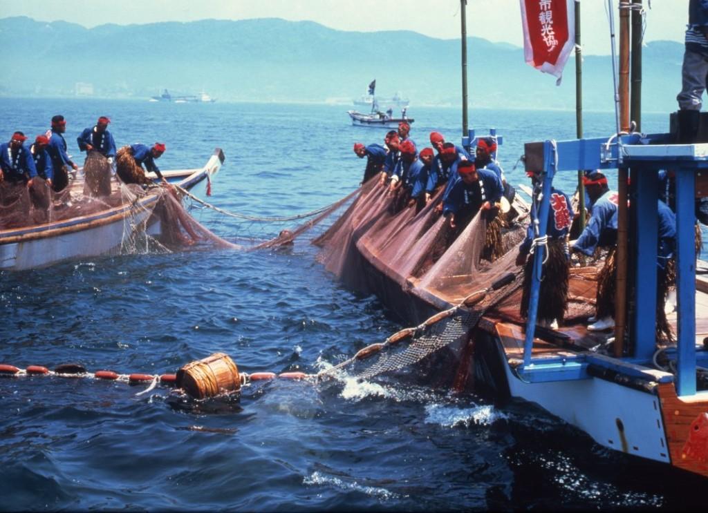 鞆の浦観光鯛網2