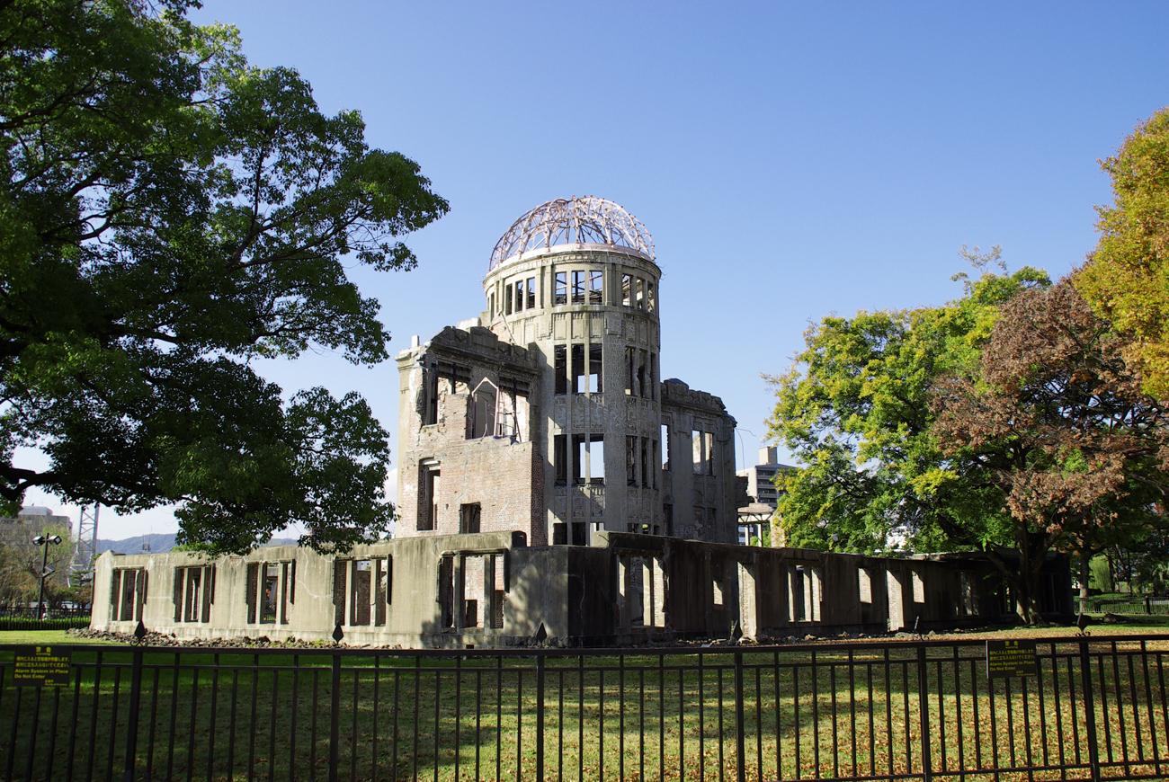 原爆ドーム 建設から今日で100年に