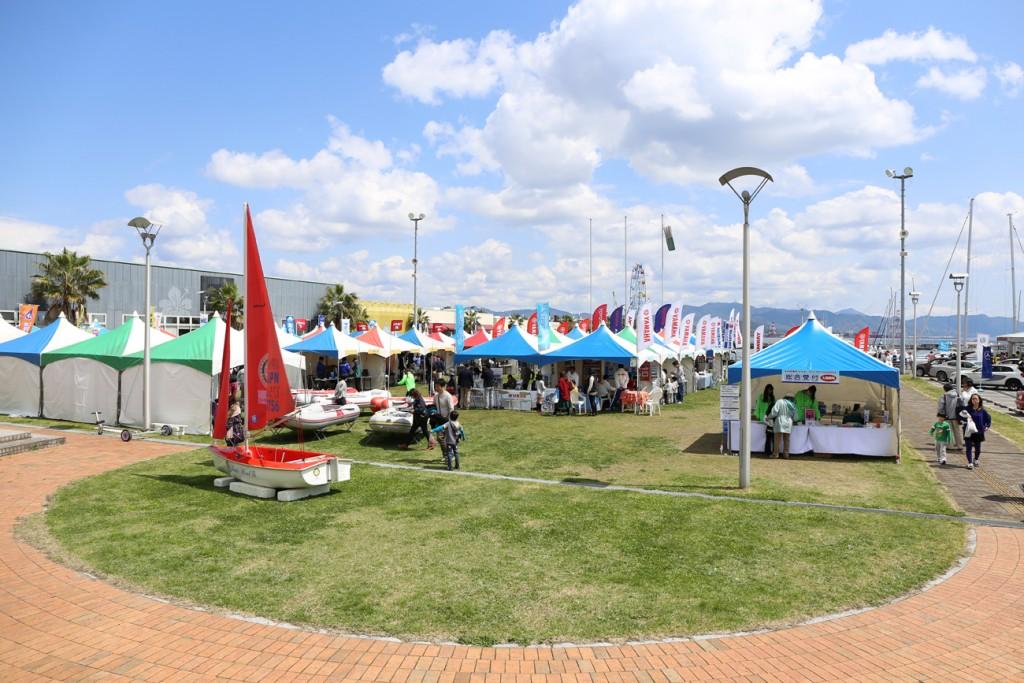 広島ボートショー マリン・グラン・フェスタ2015が開催されました