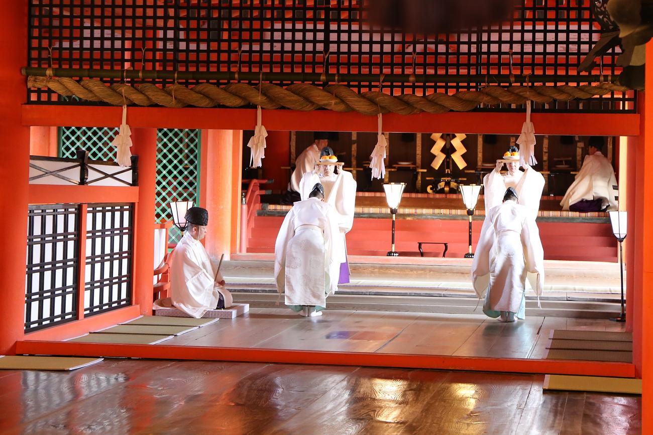 宮島厳島神社の桜花祭4