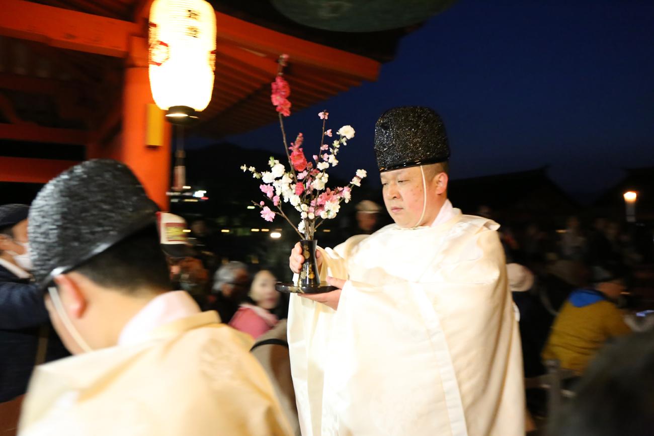 宮島厳島神社の桜花祭9