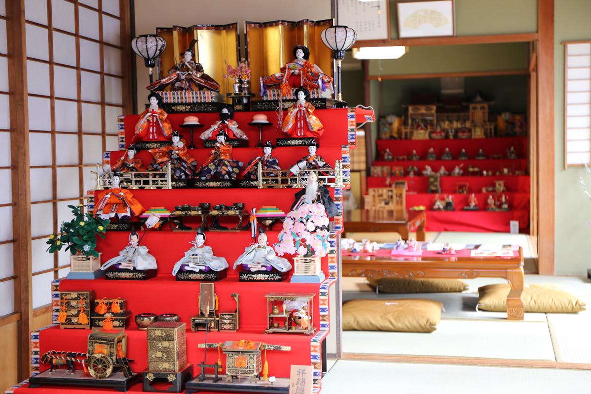 竹原町並み保存地区で、雛めぐりが開催されます
