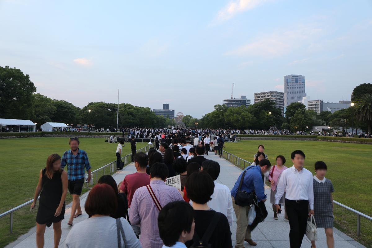 オバマ大統領広島訪問1