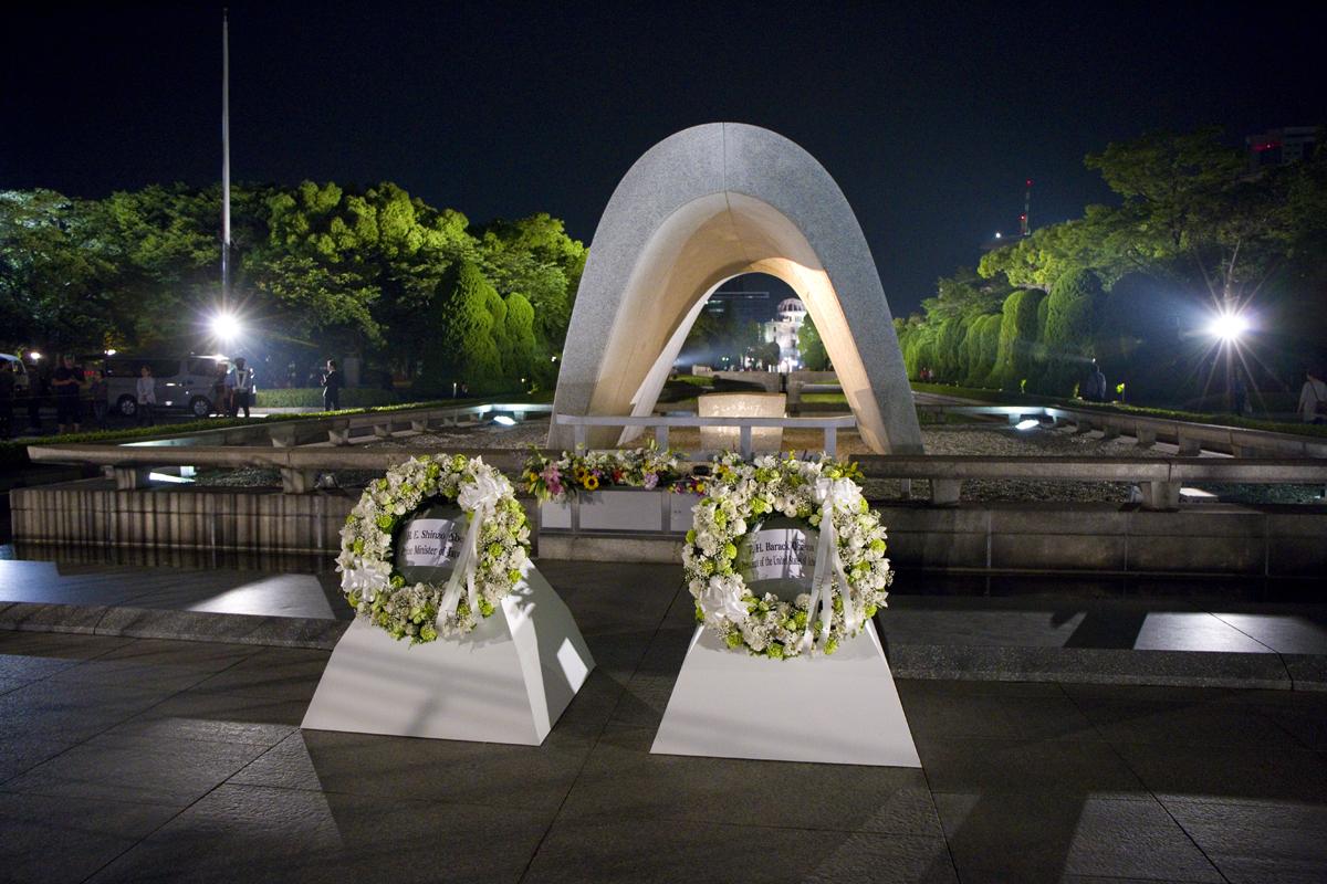歴史的瞬間 オバマ大統領が被爆地・広島を訪問
