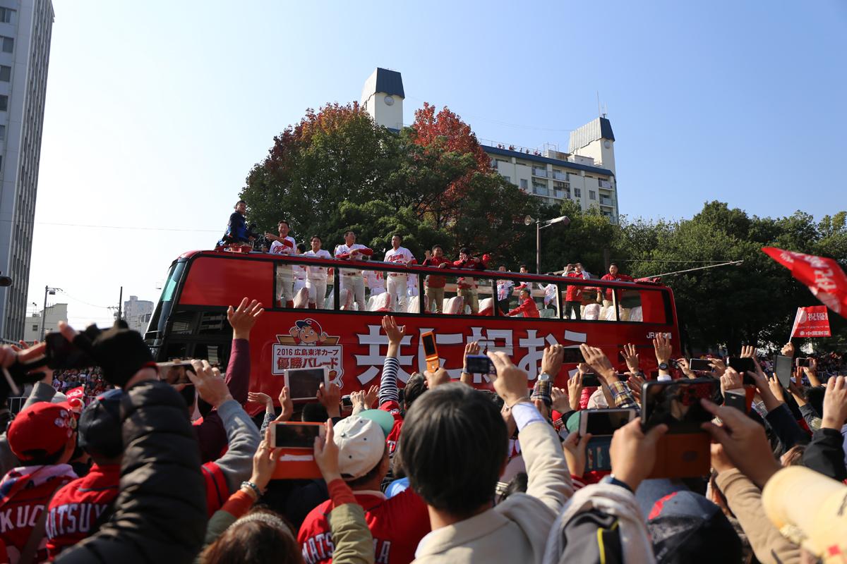 広島カープ優勝パレード3